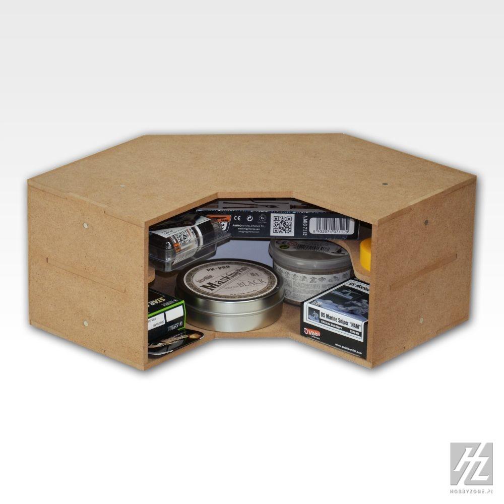 Hobbyzone Corner Shelves Module - Hobbyzone - HZ-OM04