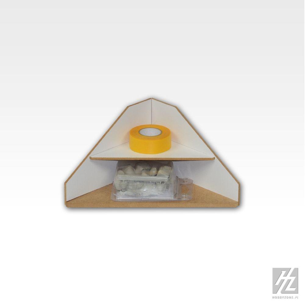 Hobbyzone Ending Corner Shelves Module - Hobbyzone - HZ-OM12
