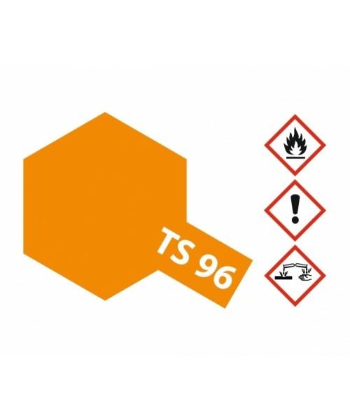 Tamiya Ts-96 Fluorescent Orange - 100ml - Tamiya - TAM85096