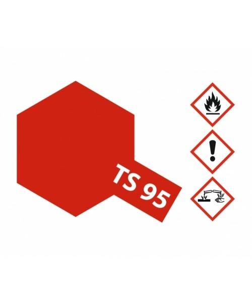 Tamiya Ts-95 Pure Metallic Red - 100ml - Tamiya - TAM85095