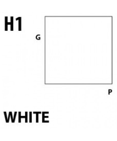 Mr Hobby / Gunze Aqueous Hobby Color White - 10ml - Mr Hobby / Gunze - MRH-H-001