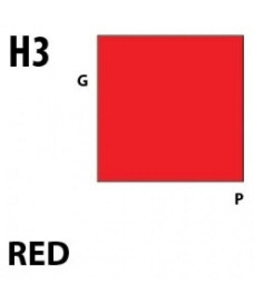 Mr Hobby / Gunze Aqueous Hobby Color Red - 10ml - Mr Hobby / Gunze - MRH-H-003