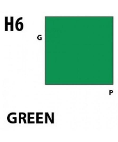 Mr Hobby / Gunze Aqueous Hobby Color Green - 10ml - Mr Hobby / Gunze - MRH-H-006