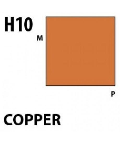 Mr Hobby / Gunze Aqueous Hobby Color Copper - 10ml - Mr Hobby / Gunze - MRH-H-010