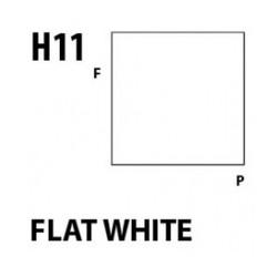 Aqueous Hobby Color Flat White - 10ml - Mr Hobby / Gunze - MRH-H-011