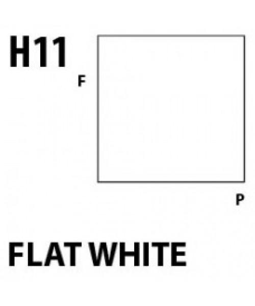 Mr Hobby / Gunze Aqueous Hobby Color Flat White - 10ml - Mr Hobby / Gunze - MRH-H-011