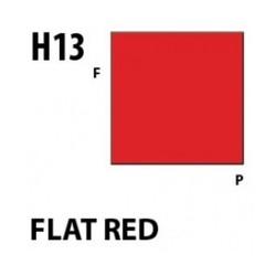 Aqueous Hobby Color Flat Red - 10ml - Mr Hobby / Gunze - MRH-H-013