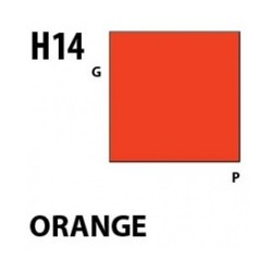 Aqueous Hobby Color Orange - 10ml - Mr Hobby / Gunze - MRH-H-014