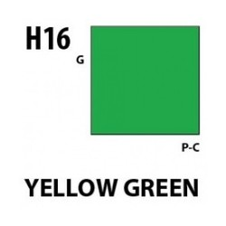 Aqueous Hobby Color Yellow Green - 10ml - Mr Hobby / Gunze - MRH-H-016