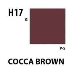 Aqueous Hobby Color Cocoa Brown - 10ml - Mr Hobby / Gunze - MRH-H-017
