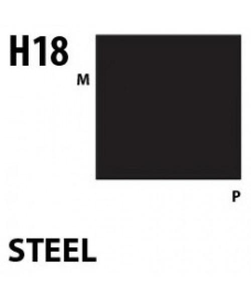 Mr Hobby / Gunze Aqueous Hobby Color Steel - 10ml - Mr Hobby / Gunze - MRH-H-018