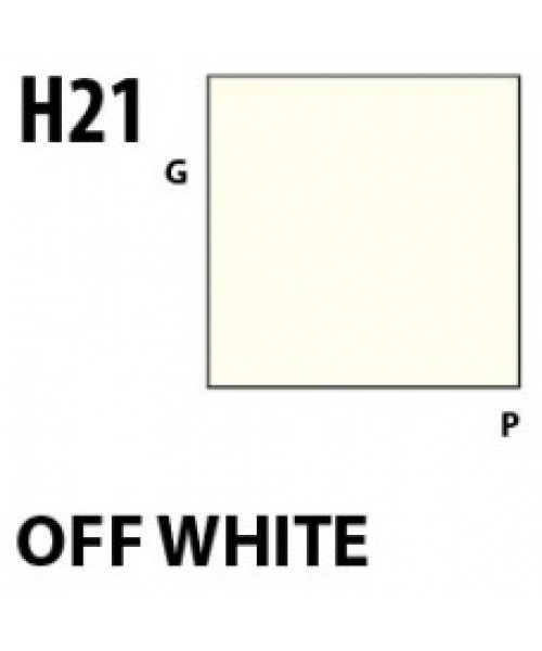 Mr Hobby / Gunze Aqueous Hobby Color Off White - 10ml - Mr Hobby / Gunze - MRH-H-021