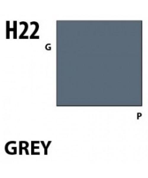 Mr Hobby / Gunze Aqueous Hobby Color Gray - 10ml - Mr Hobby / Gunze - MRH-H-022