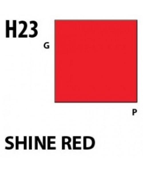 Mr Hobby / Gunze Aqueous Hobby Color Shine Red - 10ml - Mr Hobby / Gunze - MRH-H-023