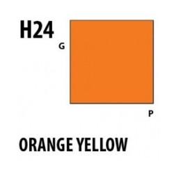 Aqueous Hobby Color Orange Yellow - 10ml - Mr Hobby / Gunze - MRH-H-024