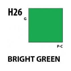 Aqueous Hobby Color Brigth Green - 10ml - Mr Hobby / Gunze - MRH-H-026