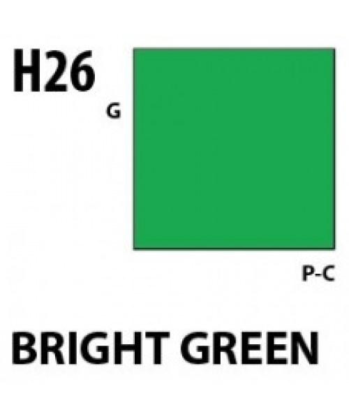Mr Hobby / Gunze Aqueous Hobby Color Brigth Green - 10ml - Mr Hobby / Gunze - MRH-H-026