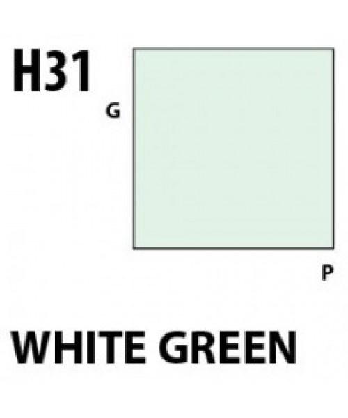 Mr Hobby / Gunze Aqueous Hobby Color White Green - 10ml - Mr Hobby / Gunze - MRH-H-031