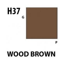 Aqueous Hobby Color Wood Brown - 10ml - Mr Hobby / Gunze - MRH-H-037