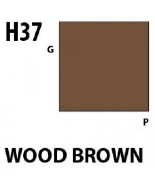 Mr Hobby / Gunze Aqueous Hobby Color Wood Brown - 10ml - Mr Hobby / Gunze - MRH-H-037