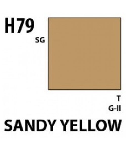 Mr Hobby / Gunze Aqueous Hobby Color Sandy And Dark Yellow - 10ml - Mr Hobby / Gunze - MRH-H-079