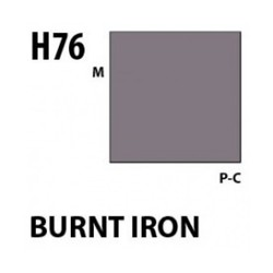 Aqueous Hobby Color Burnt Iron - 10ml - Mr Hobby / Gunze - MRH-H-076