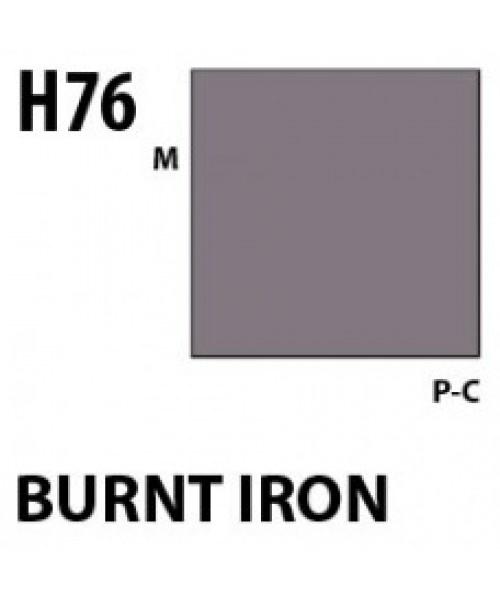 Mr Hobby / Gunze Aqueous Hobby Color Burnt Iron - 10ml - Mr Hobby / Gunze - MRH-H-076