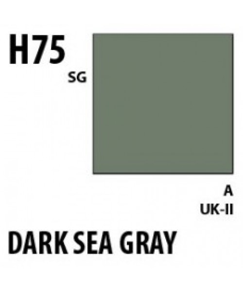 Mr Hobby / Gunze Aqueous Hobby Color Dark Seagray - 10ml - Mr Hobby / Gunze - MRH-H-075