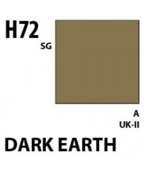 Mr Hobby / Gunze Aqueous Hobby Color Dark Earth - 10ml - Mr Hobby / Gunze - MRH-H-072