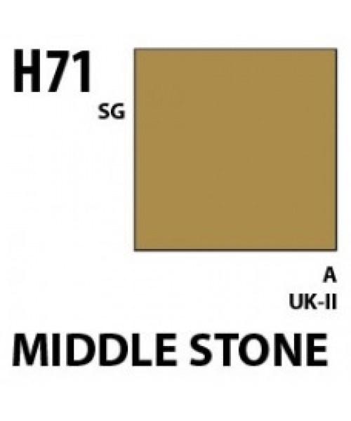 Mr Hobby / Gunze Aqueous Hobby Color Middle Stone - 10ml - Mr Hobby / Gunze - MRH-H-071