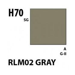 Aqueous Hobby Color Rlm02 Gray - 10ml - Mr Hobby / Gunze - MRH-H-070