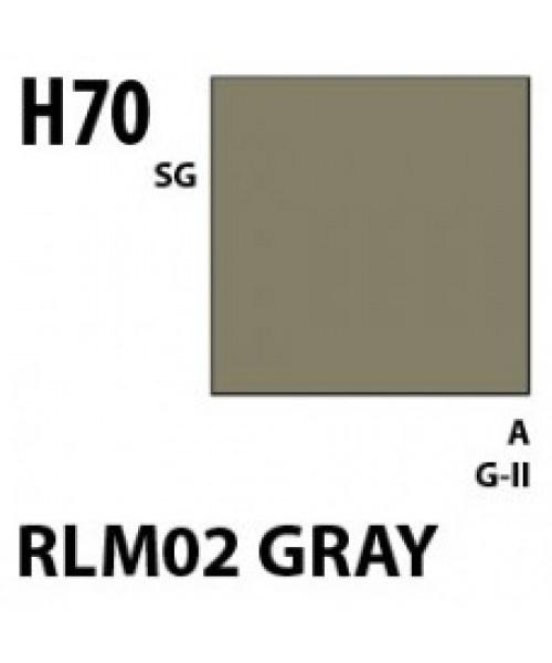 Mr Hobby / Gunze Aqueous Hobby Color Rlm02 Gray - 10ml - Mr Hobby / Gunze - MRH-H-070