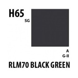 Aqueous Hobby Color Rlm70 Black Green - 10ml - Mr Hobby / Gunze - MRH-H-065