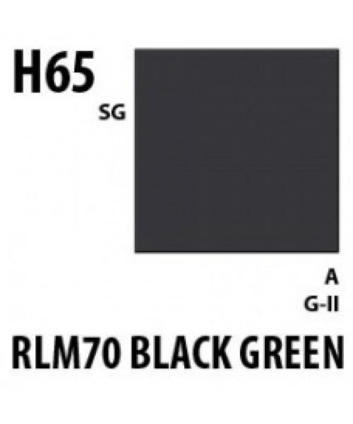 Mr Hobby / Gunze Aqueous Hobby Color Rlm70 Black Green - 10ml - Mr Hobby / Gunze - MRH-H-065
