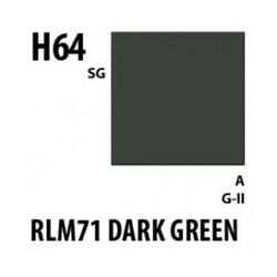Aqueous Hobby Color Rlm71 Dark Green - 10ml - Mr Hobby / Gunze - MRH-H-064