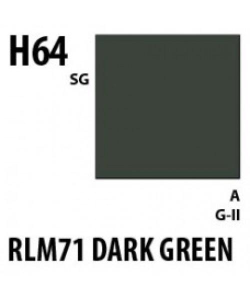 Mr Hobby / Gunze Aqueous Hobby Color Rlm71 Dark Green - 10ml - Mr Hobby / Gunze - MRH-H-064
