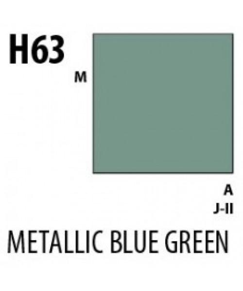 Mr Hobby / Gunze Aqueous Hobby Color Metallic Blue Green - 10ml - Mr Hobby / Gunze - MRH-H-063