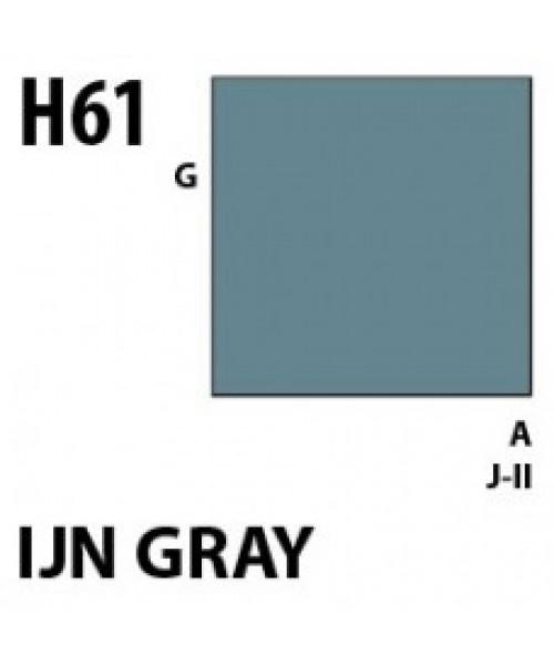 Mr Hobby / Gunze Aqueous Hobby Color Ijn Gray - 10ml - Mr Hobby / Gunze - MRH-H-061