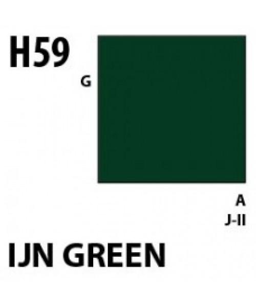 Mr Hobby / Gunze Aqueous Hobby Color Ijn Green - 10ml - Mr Hobby / Gunze - MRH-H-059