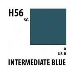 Aqueous Hobby Color Intermediate Blue - 10ml - Mr Hobby / Gunze - MRH-H-056