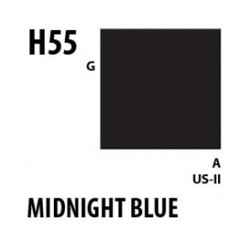 Aqueous Hobby Color Midnight Blue - 10ml - Mr Hobby / Gunze - MRH-H-055