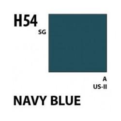 Aqueous Hobby Color Navy Blue - 10ml - Mr Hobby / Gunze - MRH-H-054