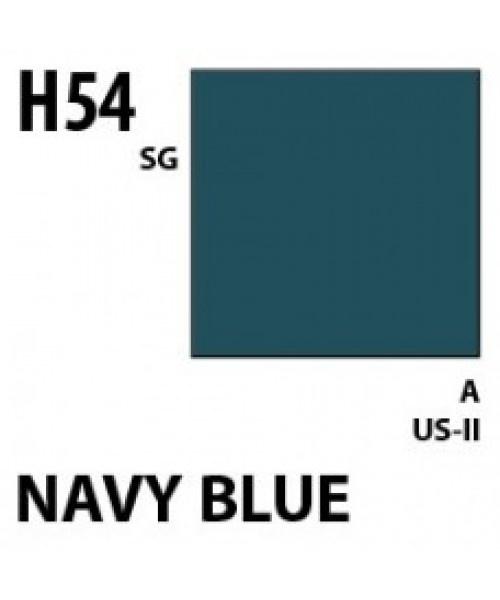 Mr Hobby / Gunze Aqueous Hobby Color Navy Blue - 10ml - Mr Hobby / Gunze - MRH-H-054