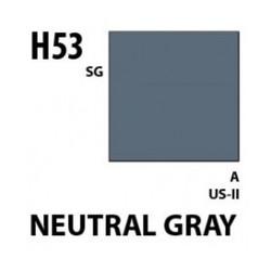 Aqueous Hobby Color Neutral Gray - 10ml - Mr Hobby / Gunze - MRH-H-053