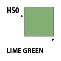 Aqueous Hobby Color Lime Green - 10ml - Mr Hobby / Gunze - MRH-H-050