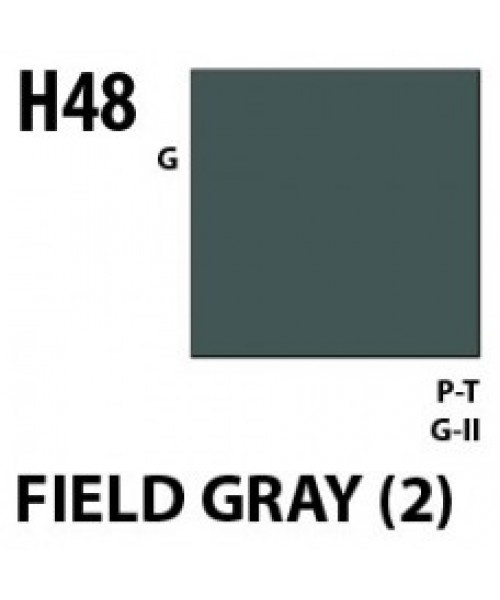 Mr Hobby / Gunze Aqueous Hobby Color Field Gray 2 - 10ml - Mr Hobby / Gunze - MRH-H-048