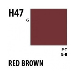 Aqueous Hobby Color Red Brown - 10ml - Mr Hobby / Gunze - MRH-H-047