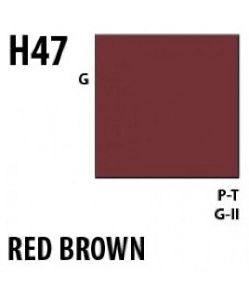 Mr Hobby / Gunze Aqueous Hobby Color Red Brown - 10ml - Mr Hobby / Gunze - MRH-H-047