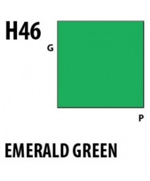 Mr Hobby / Gunze Aqueous Hobby Color Emerald Green - 10ml - Mr Hobby / Gunze - MRH-H-046