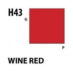 Aqueous Hobby Color Wine Red - 10ml - Mr Hobby / Gunze - MRH-H-043